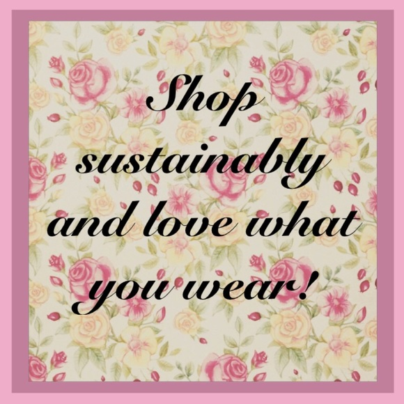 Other - Shop sustainably and love what you wear 🌷